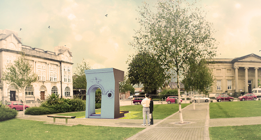<b><i>'Swansea Fitted' Civic Stage</i></b>, Aberrant Architecture, 2014