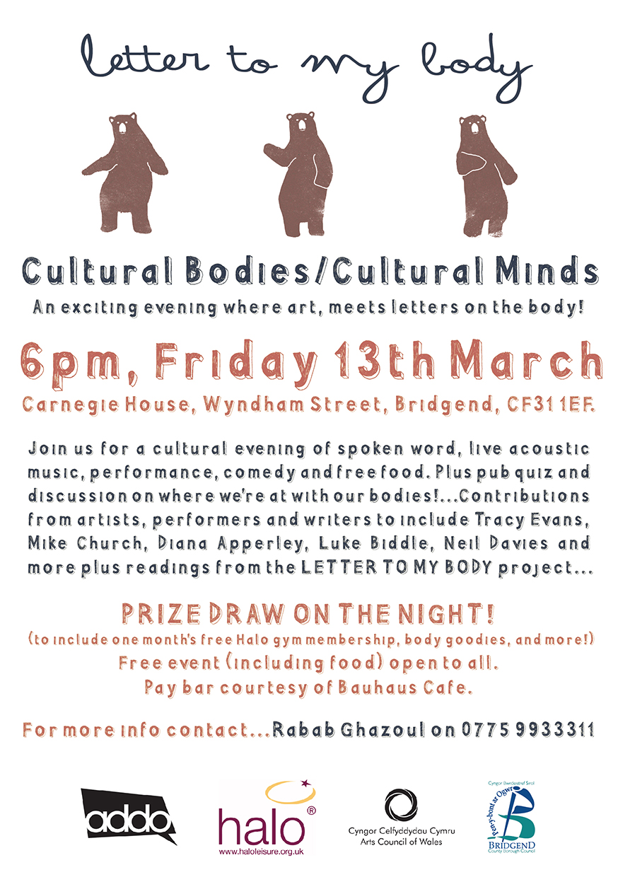 Invitation to CULTURAL BODIES / CULTURAL MINDS Event
