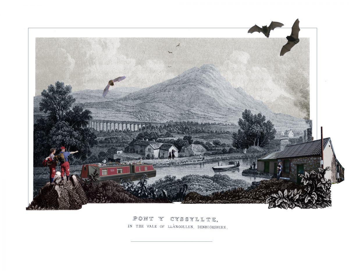 <i><b>Image:</b> After Gastineau, Pontcysyllte Aqueduct, 2014. </i>