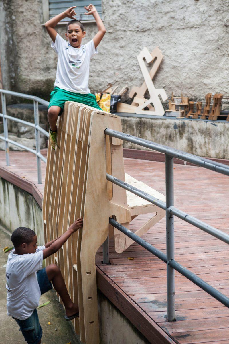 <i><b>Image:</b> Rio de Janeiro Furniture Workshops, Brazil, Aberrant Architecture, 2014-16. <br/>© Aberrant Architecture </i>