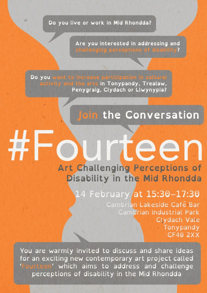 #FOURTEEN – Join the Conversation – Challenging Perceptions of Disability in the Mid Rhondda