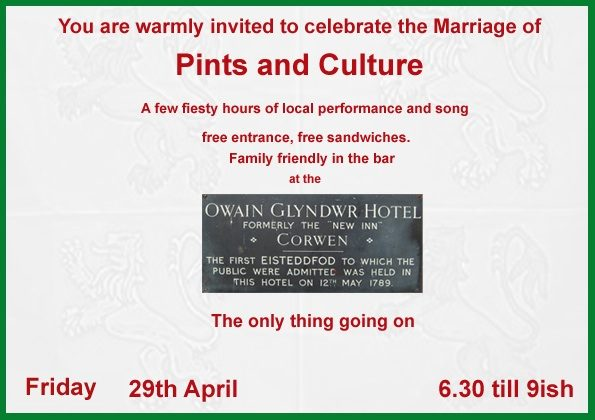 <i><b>Image:</b> Pints of Culture Event Poster, 2012. </i>