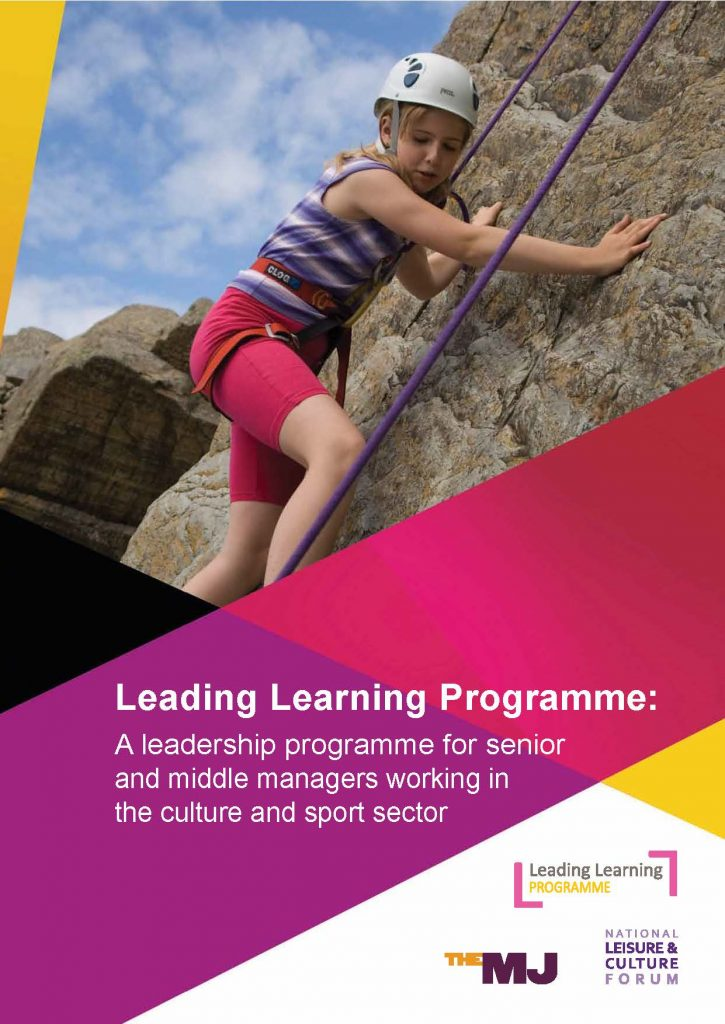 The National Leisure & Culture Forum Leading Learning Programme