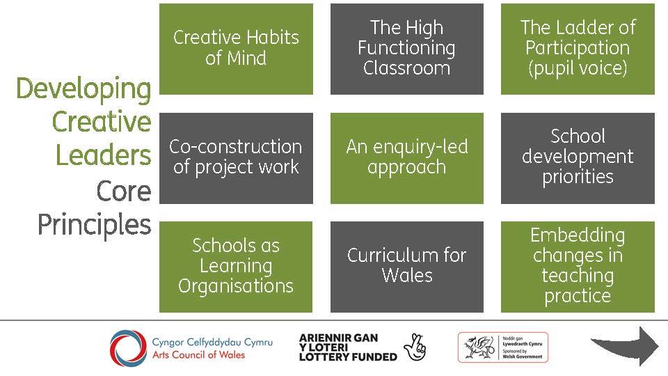 Lead Creative Schools Scheme 2019-20, Developing Creative Leaders