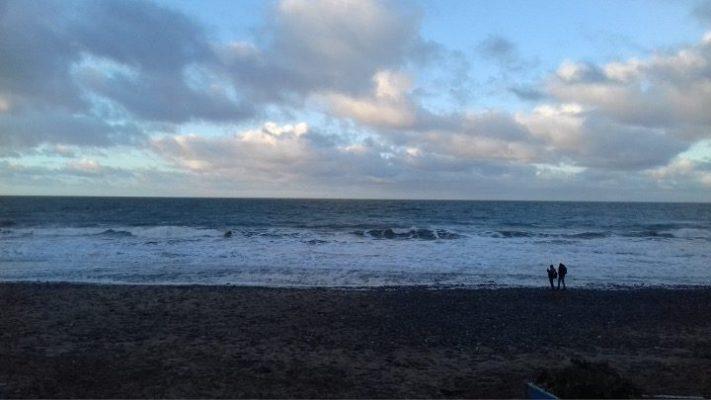 <i><b>Llun   Image:</b> Where the waves meet the sure</I>, Rowan O'Neill, 2021.