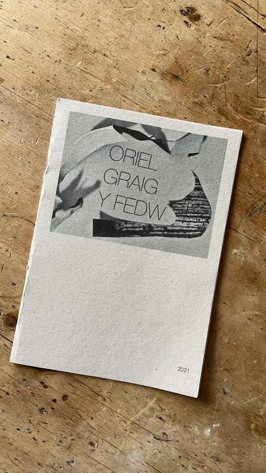 <i><b>Llun | Image:</b> Tro am Oriel Graig y Fedw yng ngardd yr artistiaid Fflur a Garmon yn Abertridwr | Visiting Oriel Graig y Fedw in artists Fflur & Garmon's garden in Abertridwr, Rufus Mufasa, 2021 </i>